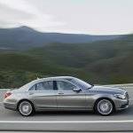 Mercedes-Benz S 400 HYBRID side view