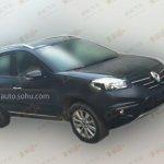 2014 Renault Koleos facelift front