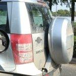 2014 Skoda Yeti spare wheel spied