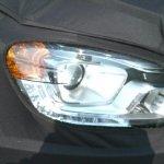2014 Ssangyong Korando spied headlamps