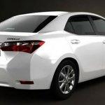 2014 Toyota Corolla render rear