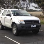 2015 Ford Endeavour Everest front spyshot