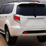 2015 Ford Endeavour rear view