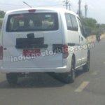 Ashok Leyland Stile spied Chennai rear fascia
