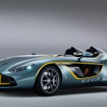 Aston Martin CC100 front three quarters