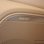 Audi A6 Special Edition Bose speakers