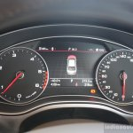 Audi A6 Special Edition instrument console