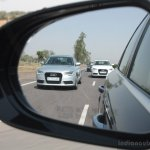 Audi A6 Special Edition rear view mirror