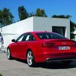 Audi S6 rear three quarter