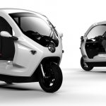 Clean Motion Zbee electric three wheeler