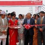 Eicher Nepal workshop inauguration