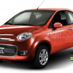 Fiat Project 344 City Car rendering