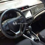 Honda Crider interior