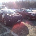 Hyundai Mistra Spied front