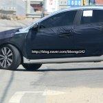 Hyundai Mistra front wheel arch