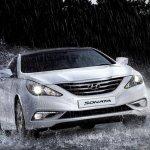 Hyundai Sonata facelift Malaysia and Korea front