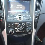 Hyundai Sonata facelift korea spy centre console