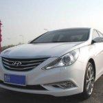 Hyundai Sonata facelift korea spy front grill