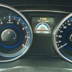 Hyundai Sonata facelift korea spy instrument console