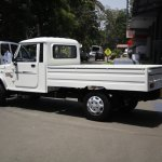 Mahindra Bolero Maxi Truck Plus white rear quarter left
