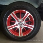 Mahindra Quanto special edition dealership level dual tone alloy wheels