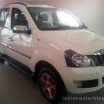 Mahindra Quanto special edition dealership level front three quarter
