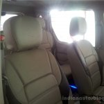 Mahindra Quanto special edition dealership level leather upholstery