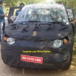 Mahindra S101 spied in Tirupur front