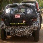 Mahindra S101 spied in Tirupur rear