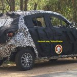 Mahindra S101 spied in Tirupur side