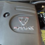 Mahindra Xylo mHawk engine cover