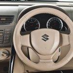Maruti Ertiga Feliz leather wrapped steering wheel