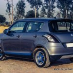 Maruti Swift rear profile customized BigDaddy
