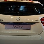 Mercedes A Class Sport Kit boot lid