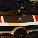 Mercedes A Class Sport Kit engine bay
