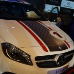 Mercedes A Class Sport Kit front view of hood