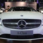 Mercedes A Class front fascia