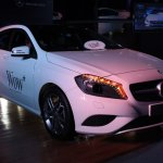 Mercedes A Class front three quarters