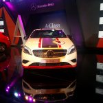 Mercedes A Class launch India Edition 1 front