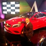 Mercedes A Class launch India Red Eberhard Kern