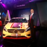 Mercedes A Class launch India White Eberhard Kern