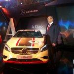 Mercedes A Class launch India White