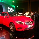 Mercedes A Class launch India red side front three quarter