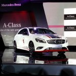 Mercedes A Class launch  White edition 1