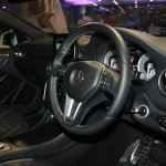 Mercedes A Class steering wheel and driver controls