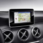 Mercedes CLA genuine accessories 3D navigation