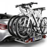 Mercedes CLA genuine accessories bicycle carrier