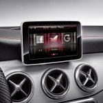 Mercedes CLA genuine accessories social media interface