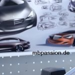 Mercedes next generation E Class sketches