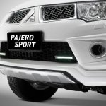 Mitsubishi Pajero Limited edition Indonesia LED DRL lights